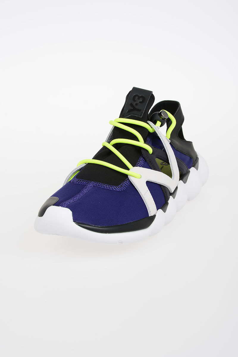 best website e5f5b 69b44 ... 50% off y 3 adidas leather fabric kyujo low sneakers 432a7 514df