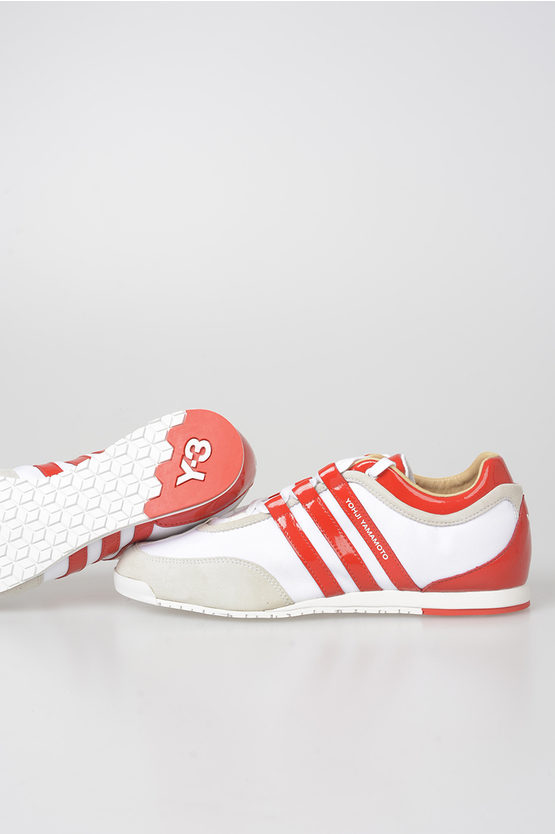 Y-3 Fabric Low Sneakers