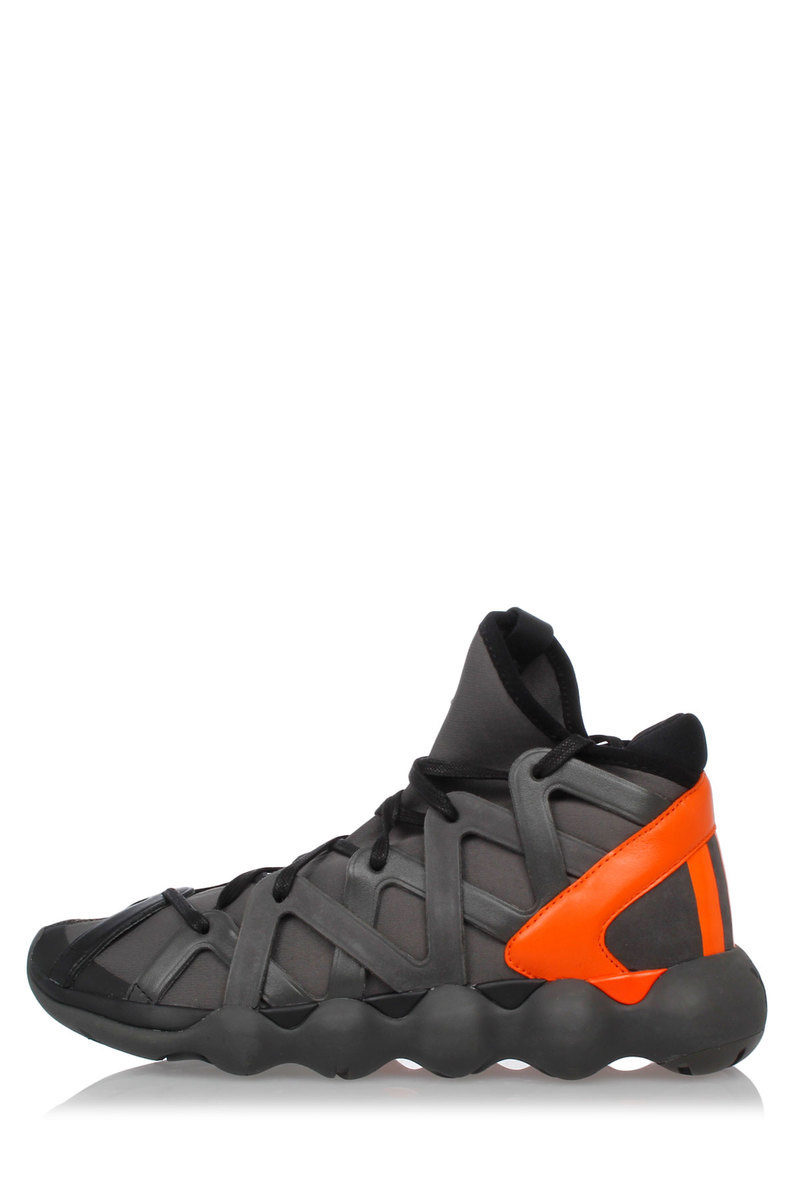 5ae8c6d8e Adidas Y-3 KYUJO HIGH Sneakers with Leather Details men - Glamood Outlet