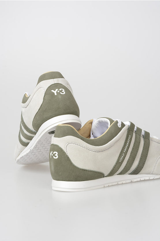 Y-3 Suede Leather Low Sneakers