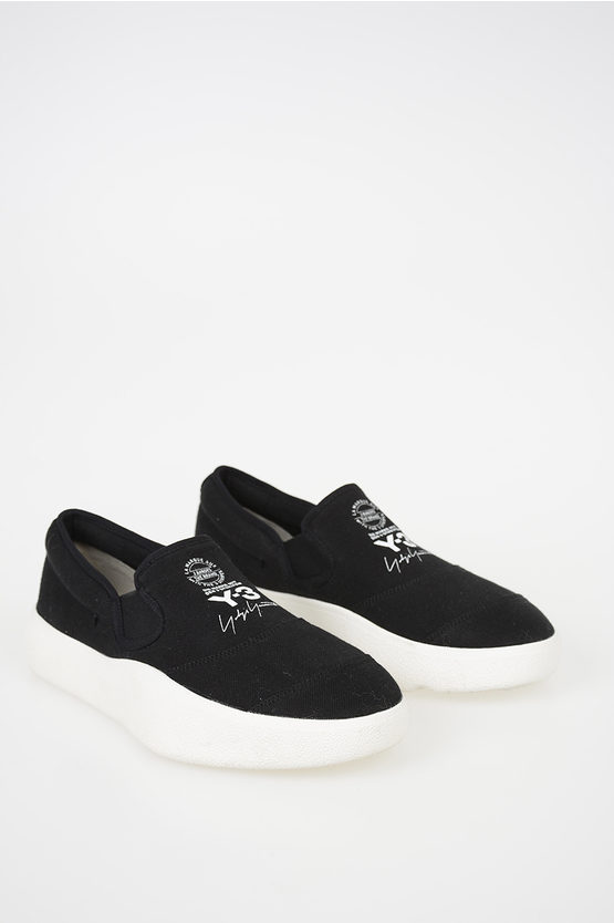 Y-3 Suede Leather Slip on