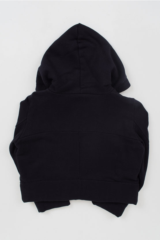 zipped Hooded Sweatshirt