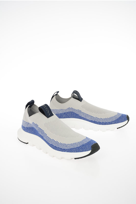 ZZEGNA Pull On Sneakers