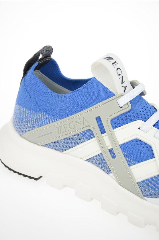 ZZEGNA TECHMERINO Fabric Sock Sneakers